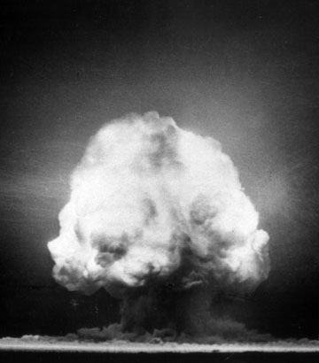 Atomic Test Detontation