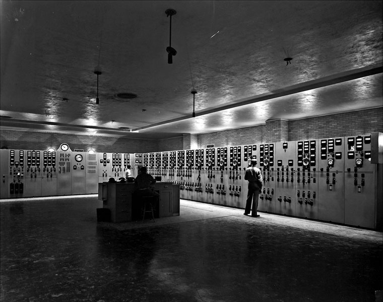 Control Room At K25