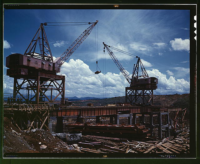Cranes At Douglas