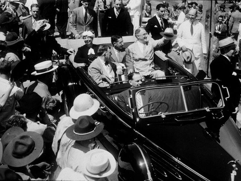 FDR At Dedication
