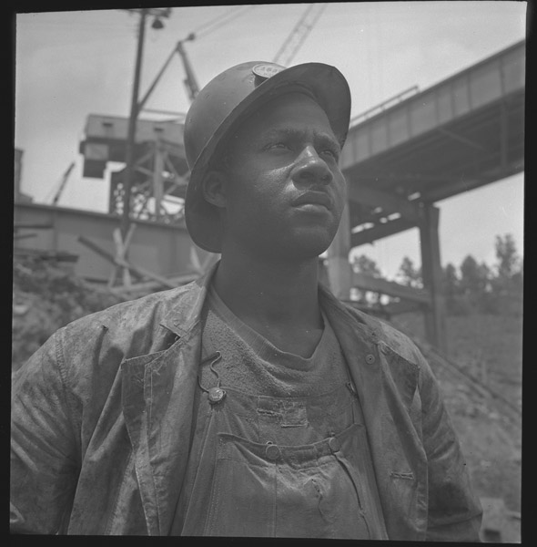 African American Construction Worker