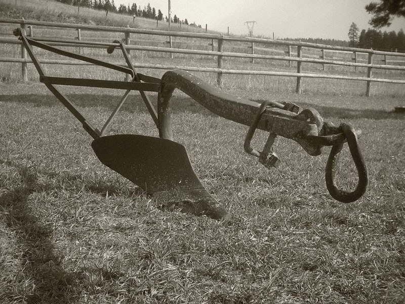 Antique Plow