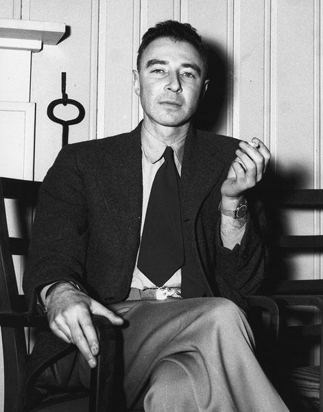 Dr Oppenheimer At Oak Ridge