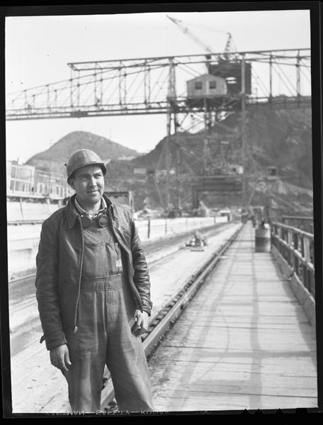 Man Posing On Fontana