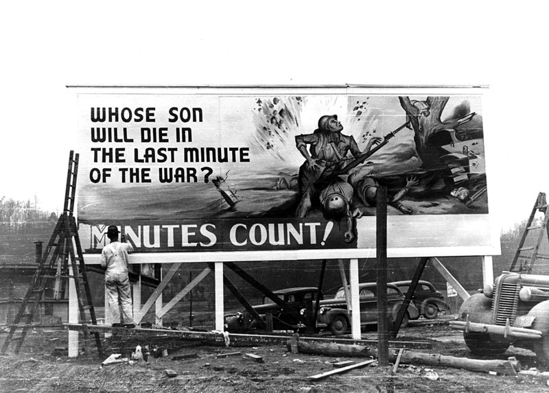 Minutes Count BIllboard