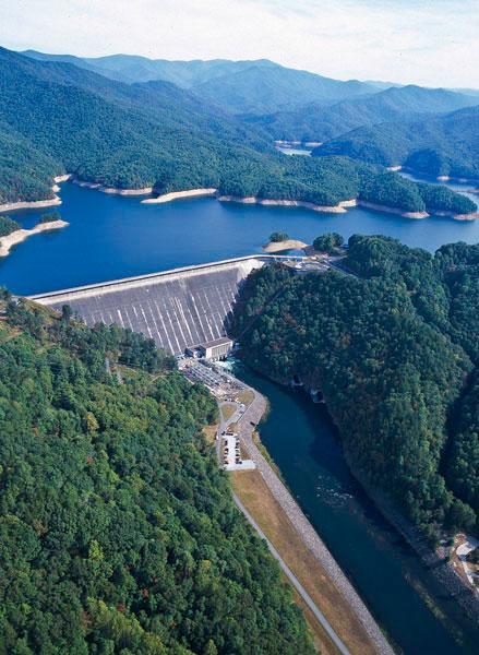 Modern Fontana Dam