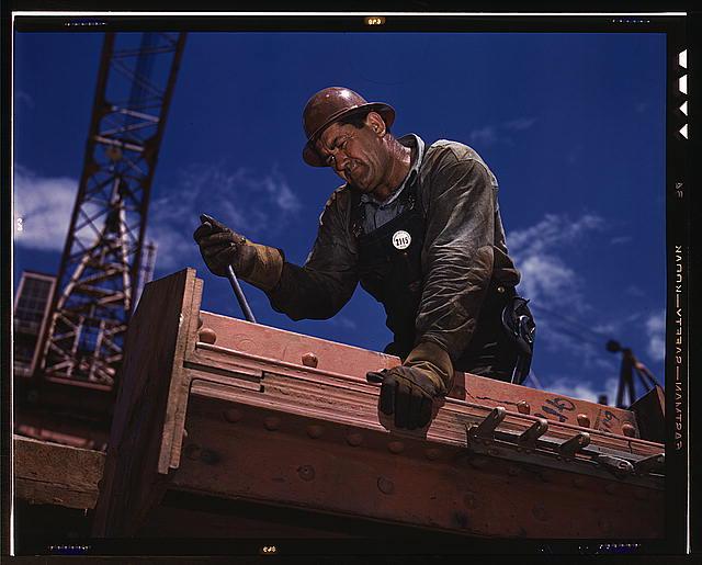 Steel Worker At Douglas