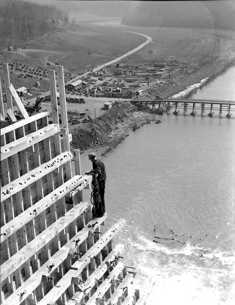 Worker On The Edge