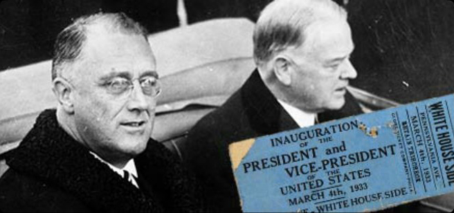 FDR Elected President of the U.S.